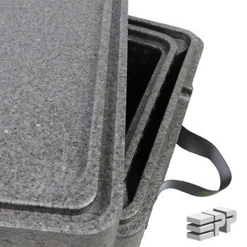 Box 2 in 1 thermal insulation container  390/340/246