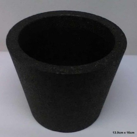 Flower pot IQBANA ISEO 255 black