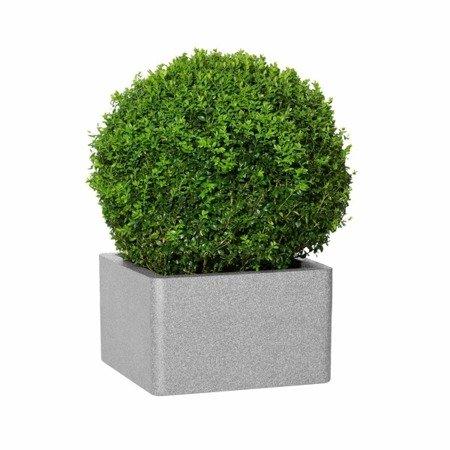 Flower pot IQBANA SQUARE 195 Grey