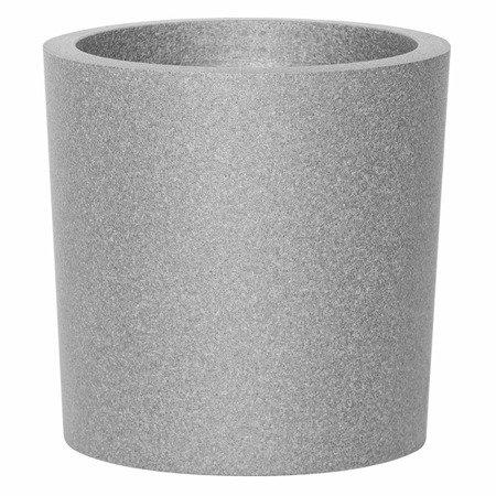 Set of 3 IQBANA ROUND pots - Black - 480/390/320