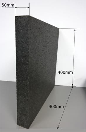 Block EPP 400/400/50 120g/l schwarz
