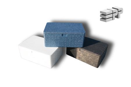 Box / Erste Hilfe Set - blau